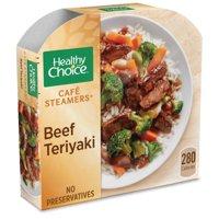 Healthy Choice Cafe Steamers Frozen Dinner Asian Inspired Beef Teriyaki 9.5 Ounce