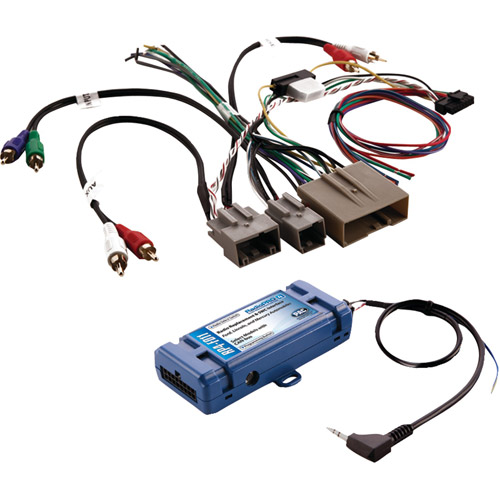 PAC RP4-FD11 All-In-One Radio Replacement and Steering Wheel Control Interface for Select Ford Vehicles with CAN Bus
