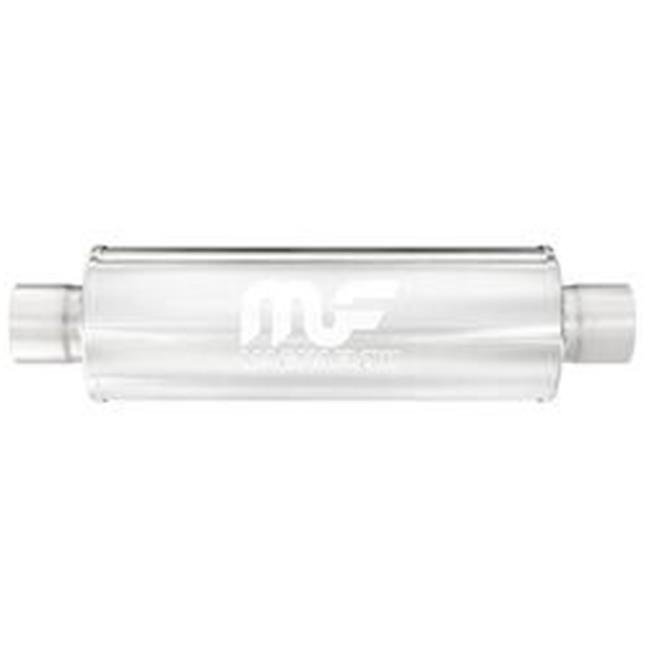 Stainless Steel Chamber Muffler Offset//Offset 3 Inch