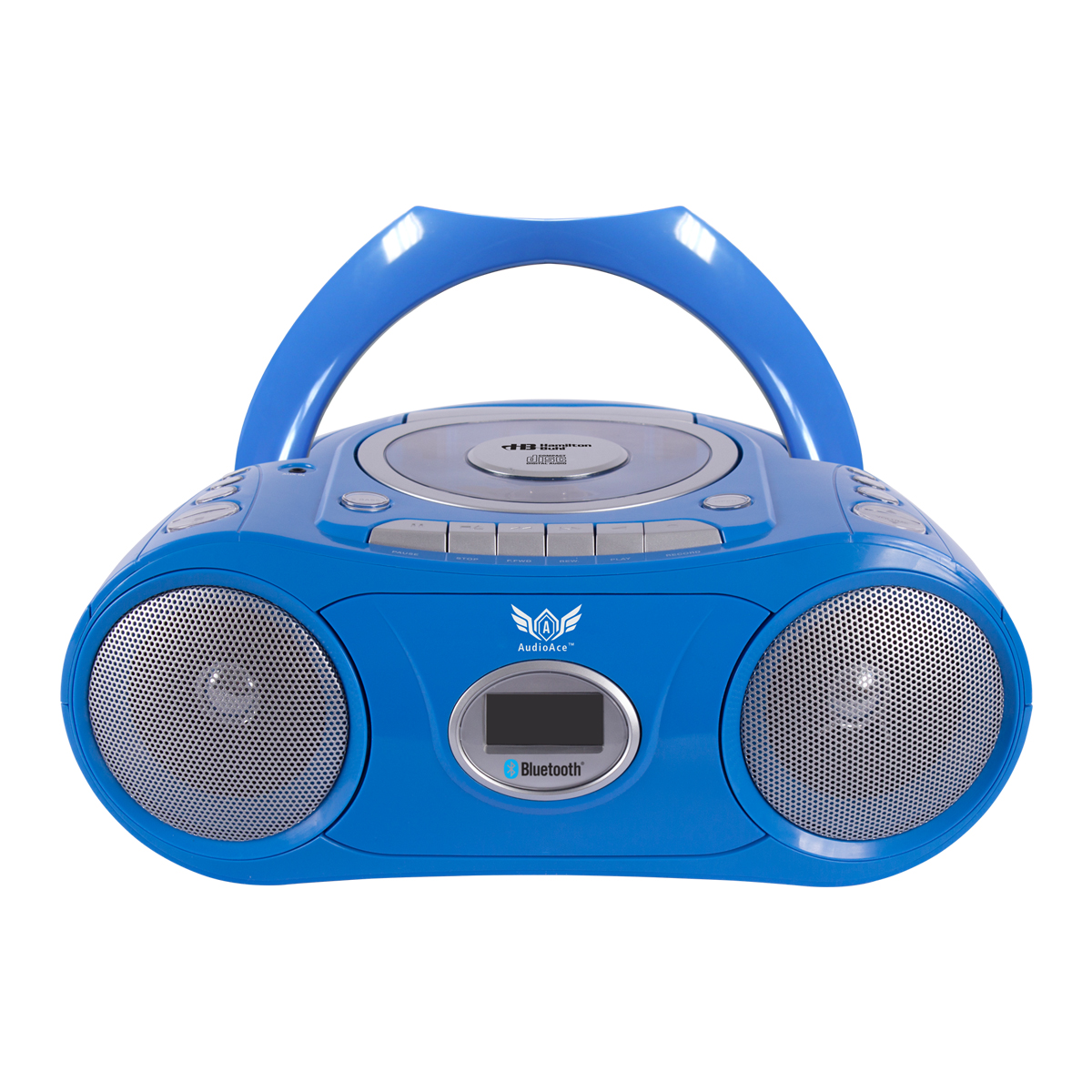 HamiltonBuhl Bluetooth, CD, Cassette and AM/FM Radio Boom Box