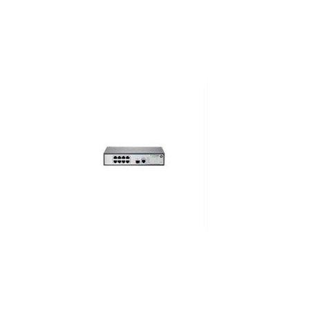 HP 1910-8G-PoE+ (180W) Switch - 8 Ports - Manageable - 8 x POE+ - 1 x  Expansion Slots - 10/100/1000Base-T - PoE Ports - Desktop, Rack-mountable -