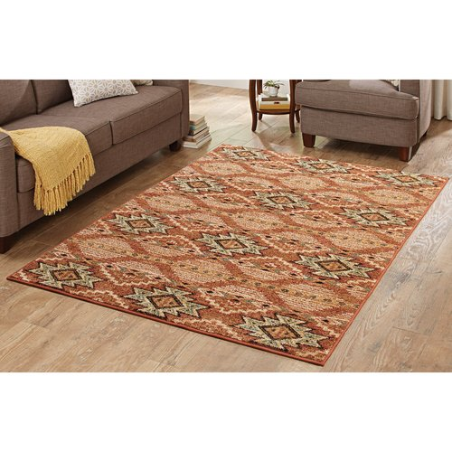 Better Homes and Gardens Terracotta Southwestern Rug Walmartcom