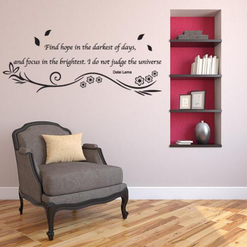 Style and Apply Hope Wall Decal Vinyl Art Home Decor Quotes and Sayings