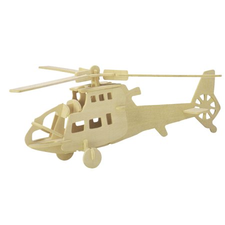 Intelligence 3D Wood Craft Fighterplane Construction Assembly Kit ()