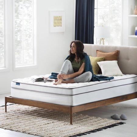 Linenspa Dreamer 12 Inch Gel Memory Foam Hybrid Mattress, Queen