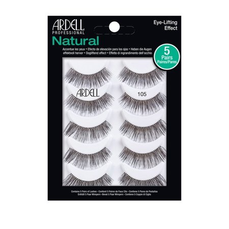 c7557974150 Ardell Glamour Style 105 Multipack False Lashes - Walmart.com