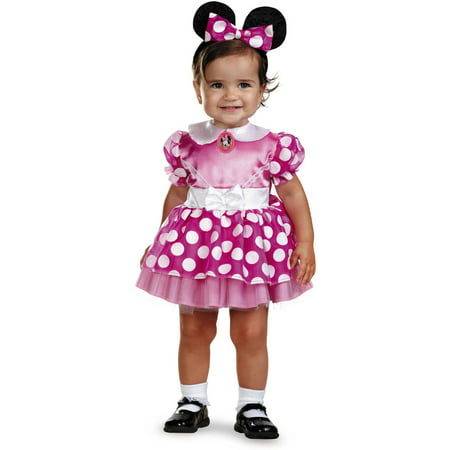 Pink Minnie Classic Infant Halloween Costume (Pink Minnie Mouse Halloween Costume)