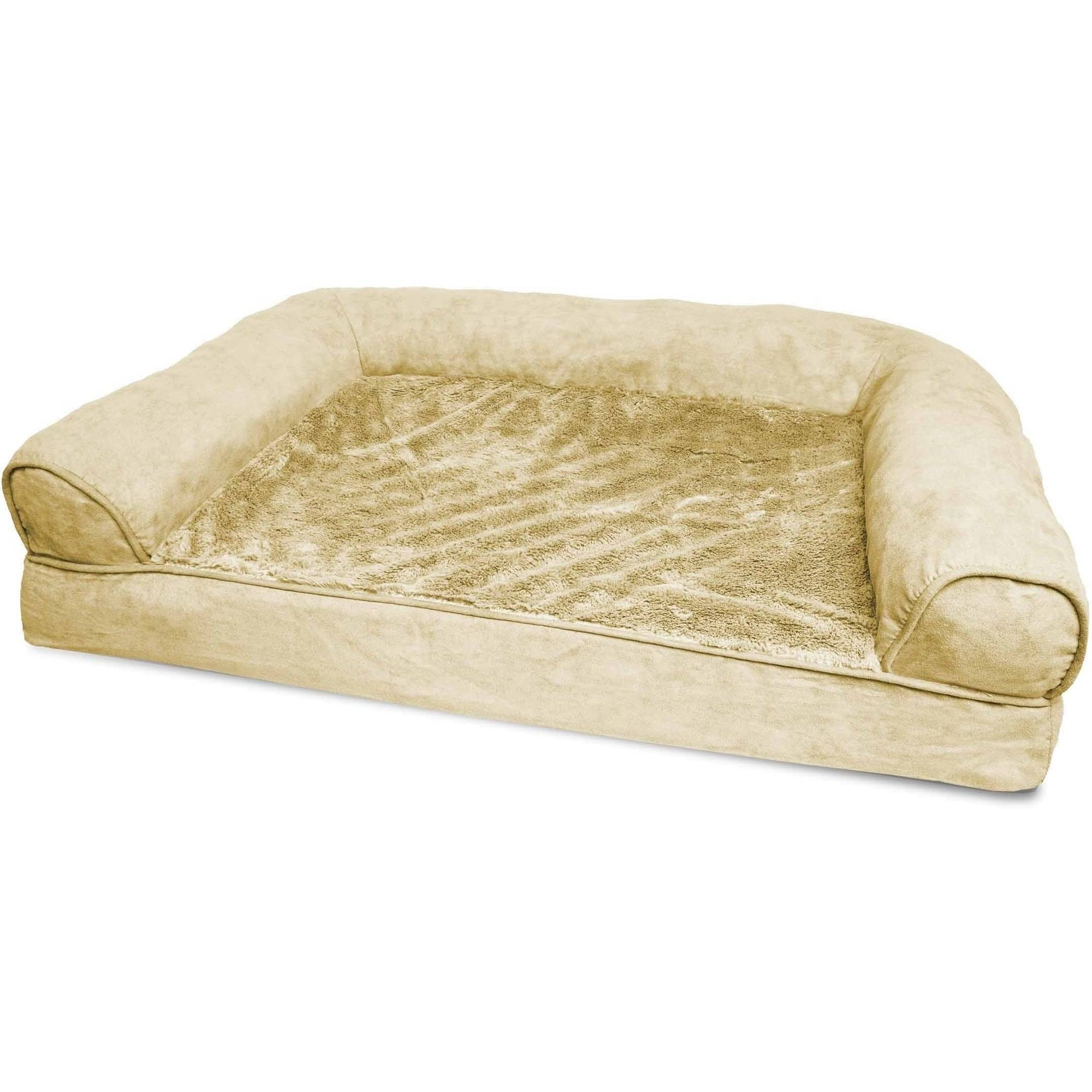 Furhaven Plush Orthopedic Sofa Dog Bed Pet Bed Ebay