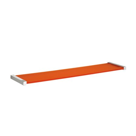 (WS Bath Collections Quadra Simple Wall Shelf)