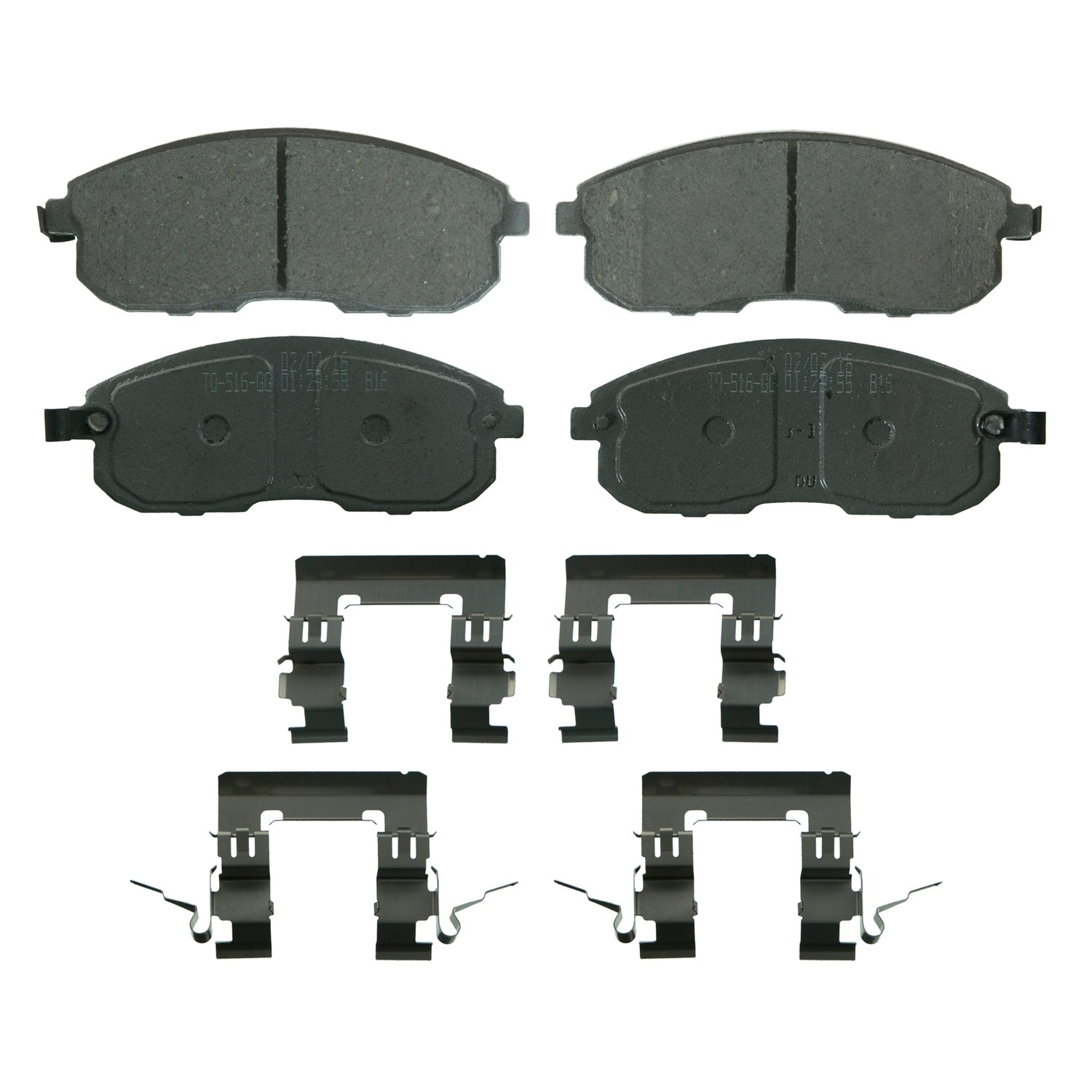 Wagner QC815D Disc Brake Pad Set For Nissan Altima, Juke, Sentra