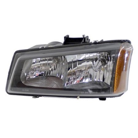 2007 Chevrolet Avalanche - Go-Parts OE Replacement for 2007 Chevrolet Avalanche Front Headlight Assembly Housing / Lens / Cover - Left (Driver) Side 10396913 GM2502257 Replacement For Chevrolet Avalanche