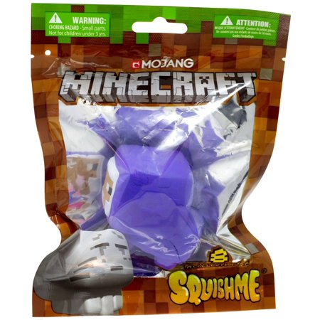 Minecraft Squishme Purple Sheep Squeeze Toy