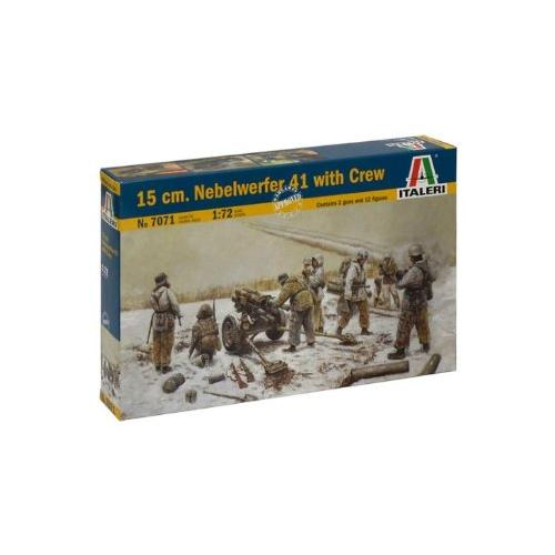 Italeri 15cm Nebelwerfer 41 Kit with Crew Multi-Colored