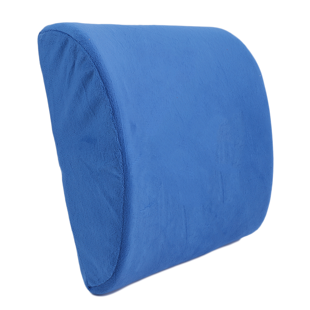 soft slow rebound memory breathable healthcare lumbar cushion back waist support pillow seat home office pillows