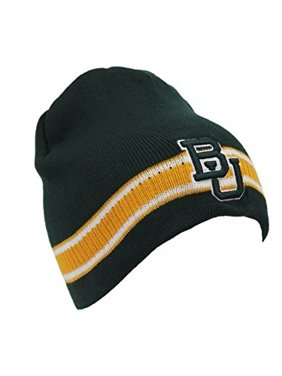 2380eb41375 Product Image Collegiate Headwear Men s Baylor Bears Embroidered Knit Cap  Beanie