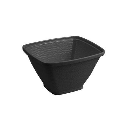 Bon Chef 53303BLACK 10.25 x 9 x 6 in. Dynasty Square Bowl, Black - image 1 of 1