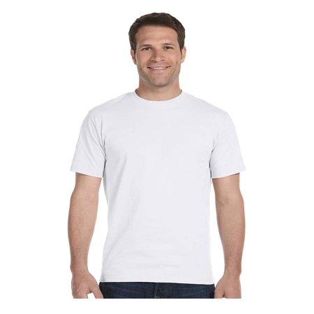 Hanes Lay-Flat Tag-Free Crewneck Beefy T-Shirt, Style -