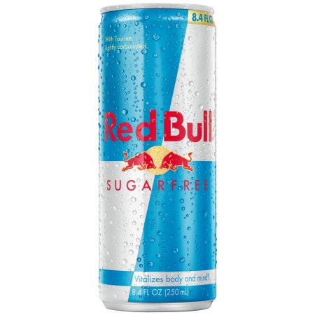 Red Bull Sugarfree Energy Drink, 8.4 Fl Oz, 4 Count