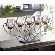 BSD National Supplies Fancy Scrolling Candle Stand