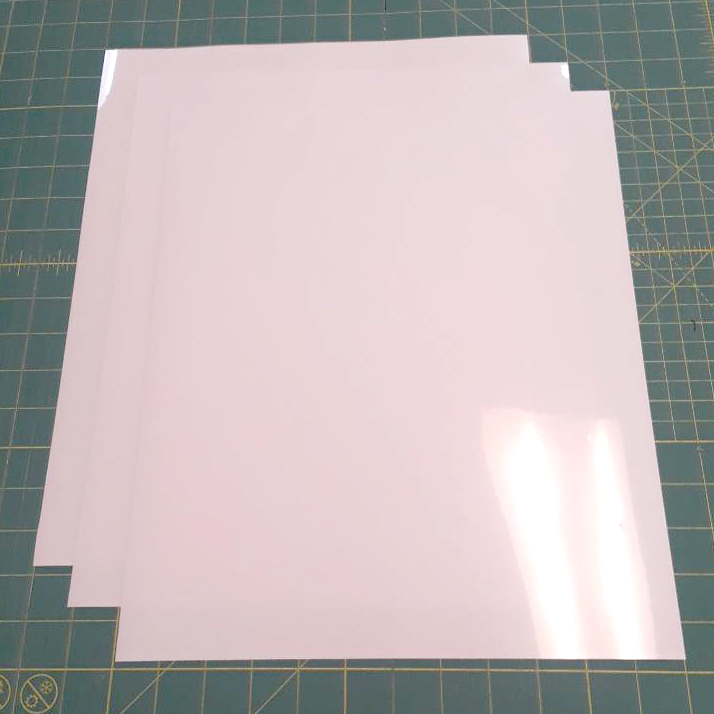 "Siser Easyweed Stretch White 15"" x 12"" (3 Sheets) Iron on Heat Transfer Vinyl Roll"