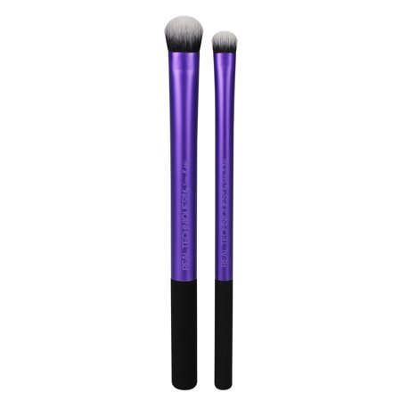 Real Techniques Instapop Eye Brush Duo Makeup Brushes - Male Duos For Halloween
