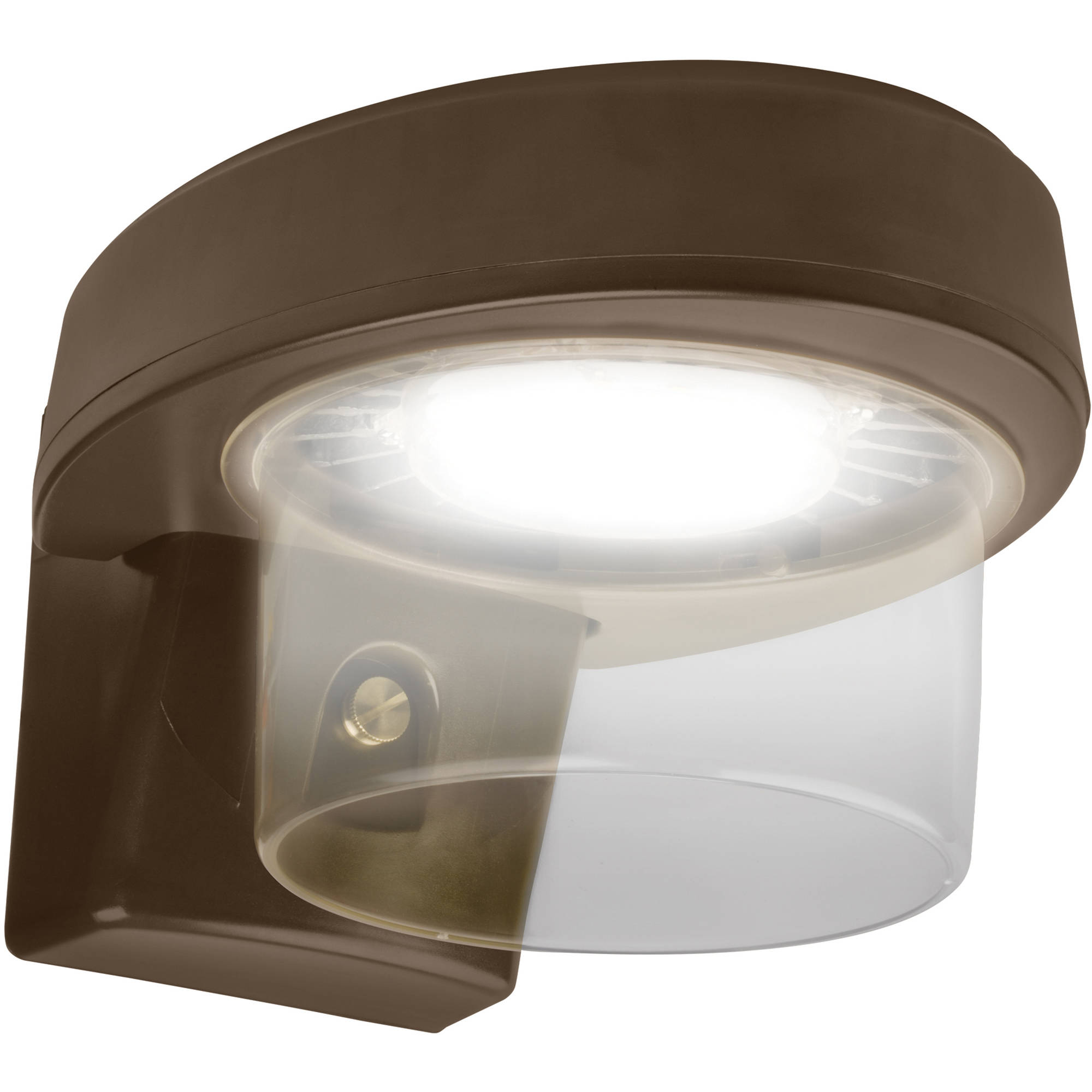 Brinks LED Dusk to Dawn Motion-Activated Security Light, Bronze