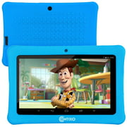 """Contixo 7"""" Kids Tablet Android 8.1 with WiFi 16GB Kids Place Parental Control 20+ Education Learning Apps, Tablet for Toddlers Children Infant Kids w/Kid-Proof Protective Case (Blue)"""