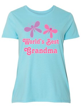 468378375b Product Image World's Best Grandma Women's Plus Size T-Shirt
