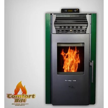 ComfortBilt HP50S Pellet Stove w/Remote and Thermostat in
