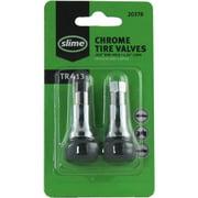"""Slime 2078-A Chrome Tire Valve Stems, 1-1/4"""" TR 413"""