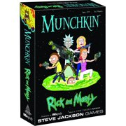 Munchkin Rick and Morty Game By USAopoly