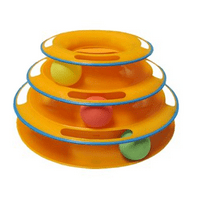 Purrfect Feline Titan's Tower Interactive Ball Cat Toy