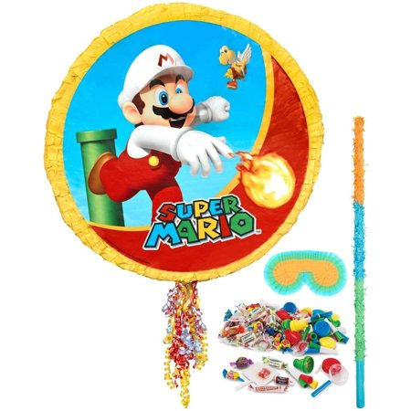 Super Mario Party Pinata Kit - Mario Star Pinata