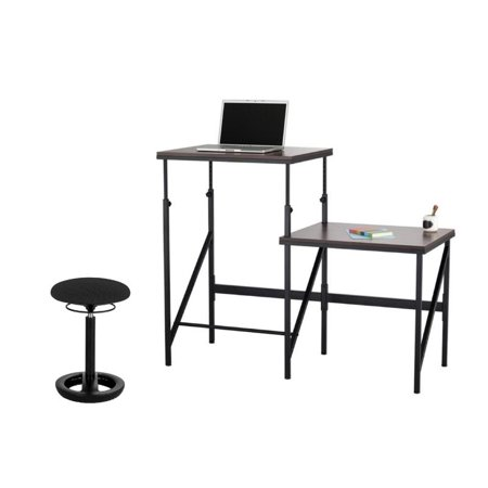 Elevate 2-Tier Standing Desk with Black Twixt 22