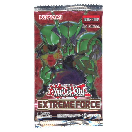 Yu-Gi-Oh Cards - Extreme Force - Booster Pack (9 Cards) Yu Gi Oh Mirror Force
