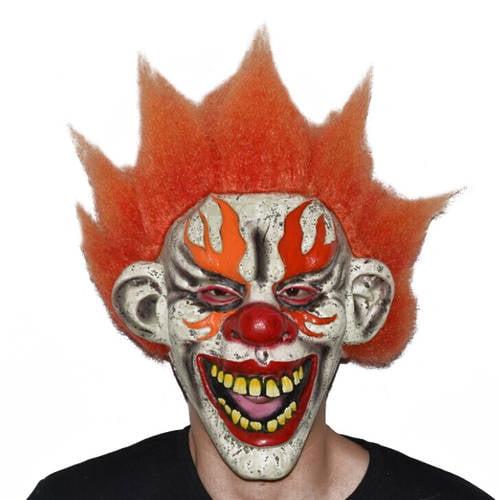 creepy clown mask adult halloween costume accessory