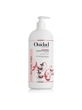 ($75 Value) OUIDAD Advanced Climate Control Heat and Humidity Gel 33.8oz/1L