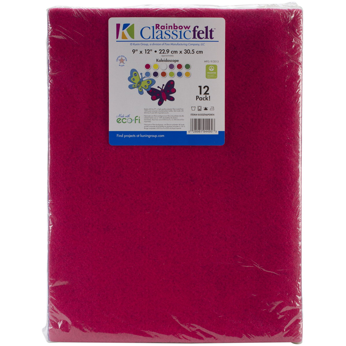 Classic Craft Felt Value Pack, Bright Colors