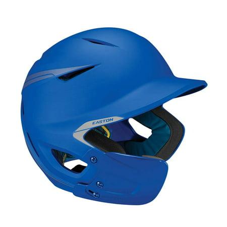 Easton Pro-X Matte Baseball Helmet with Jaw Guard. Senior. Royal