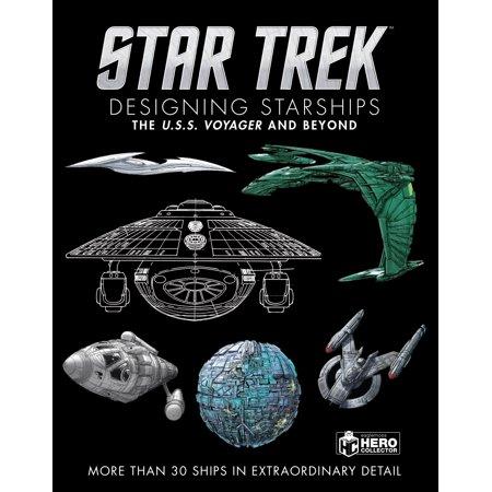 Star Trek Designing Starships Volume 2: Voyager and Beyond (Star Trek Voyager Uniform Colors)
