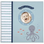 Carters Slim Bound Photo Journal Album, Under The Sea Multi-Colored