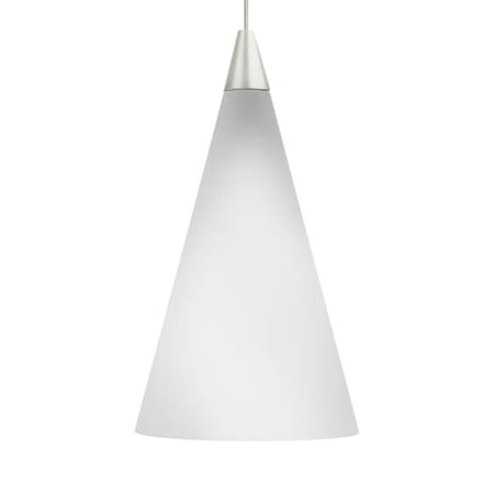Tech Lighting 700MPCONW Cone 1 Light Monopoint Pendant with Glass Cone - Blue Glass Monopoint Pendant