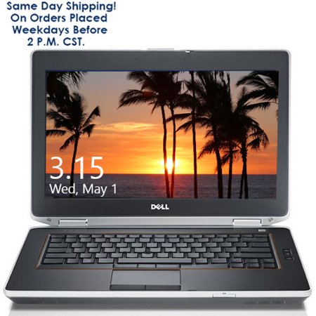 "Dell (e5420 / e5430 / e6420 / e6430) 14"" Laptop Computer with Fast Intel Core i5 2.5GHz Processor 4GB 320GB HD DVD Wifi Windows 10 - Refurbished"