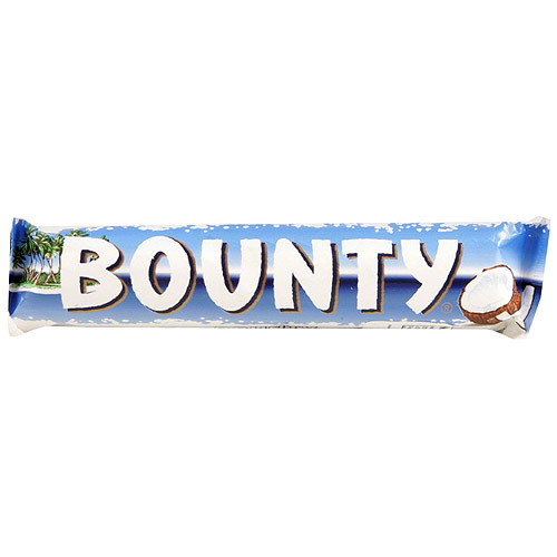 Bounty Milk Chocolate Candy Bars, 2 oz, (Pack of 24)