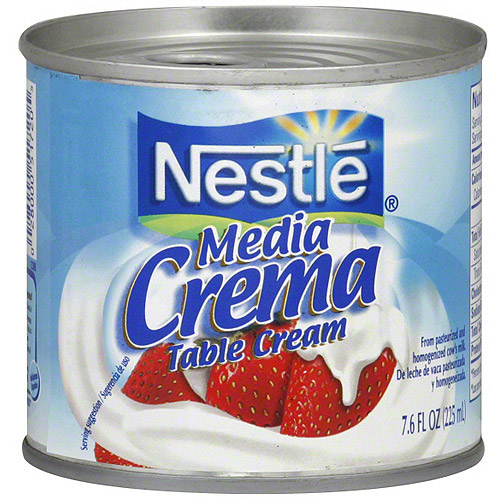 Nestle Media Crema Table Cream, 7.6 oz (Pack of 24)