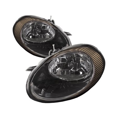 Ford Freestyle Headlight Assembly (1998-1999 Ford Taurus Headlight Set Headlamp Pair Assembly FO2502157 & FO2503157)