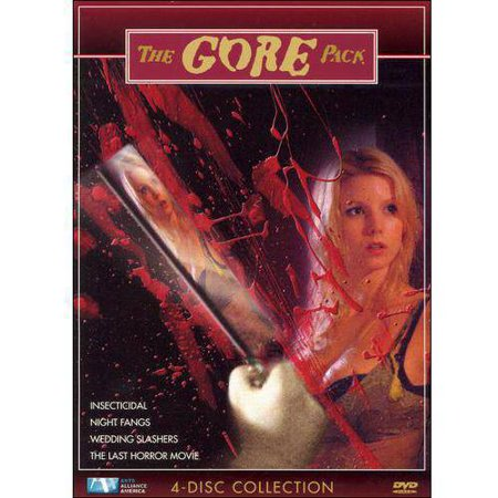 Horror: The Gore Pack: Insecticidal / Night Fangs / Wedding Slashers / The Last Horror Movie - Horror Movies Watch Halloween