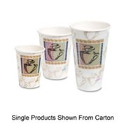 Dixie Foods DXE5356DXCT Perfect Touch Cups, Wise Size,16 oz, 500-CT, Multi