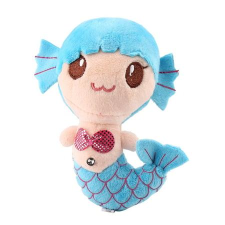 Blue Plush Toys Gift For Children Cute Lovely Plush Princess PP Cotton Toys For Baby Kids Girls The Little Mermaid Stuffed Doll