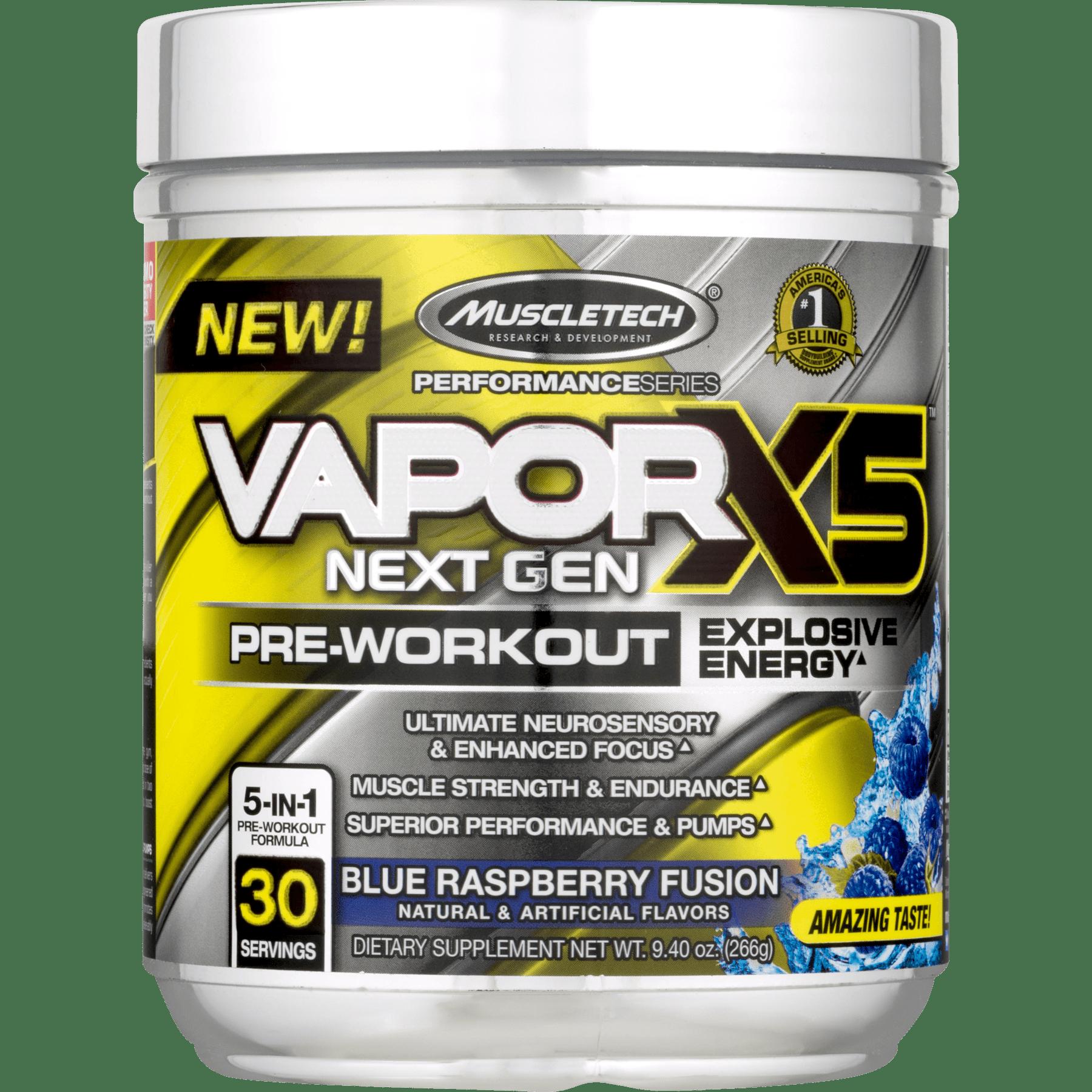 MuscleTech Vapor X5 Next Gen Explosive Energy Pre Workout